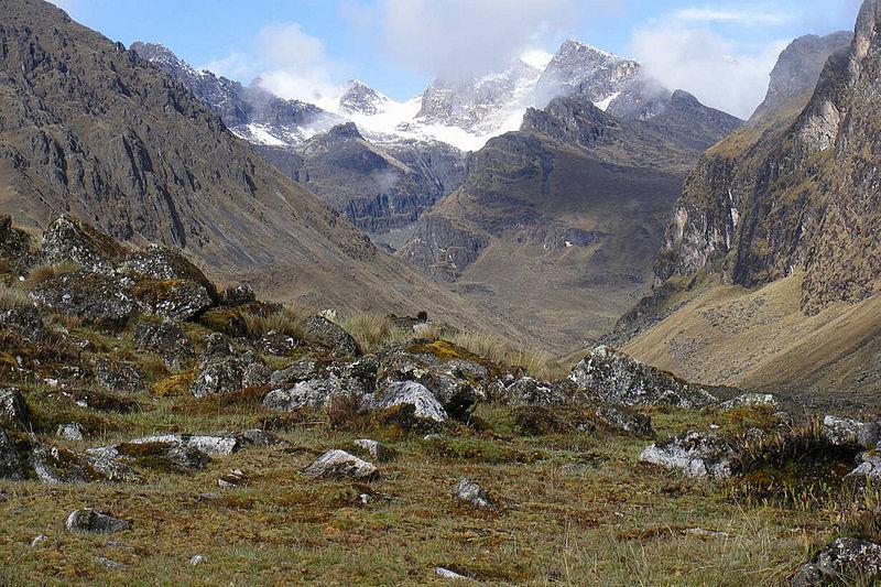 Am Camino Chorro - Blick auf die Gletscher