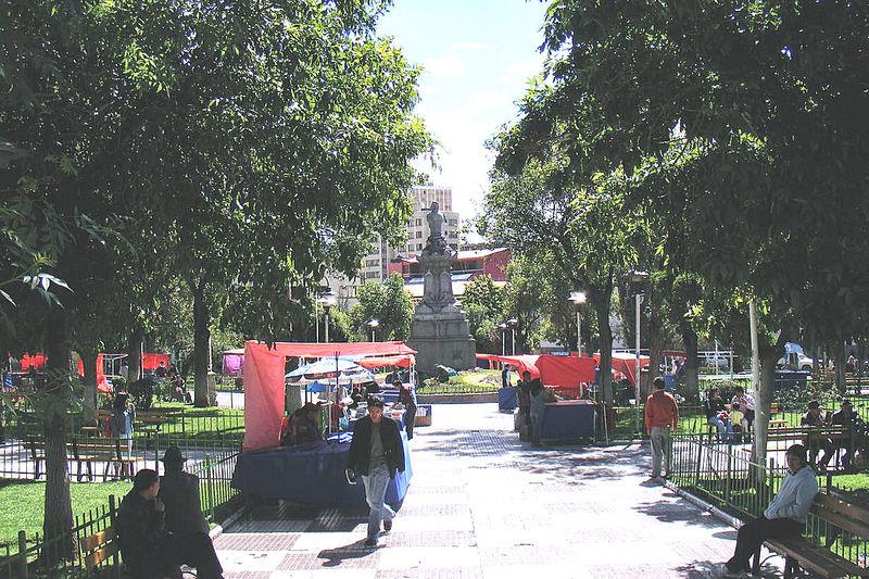 Plaza Sucre in La Paz