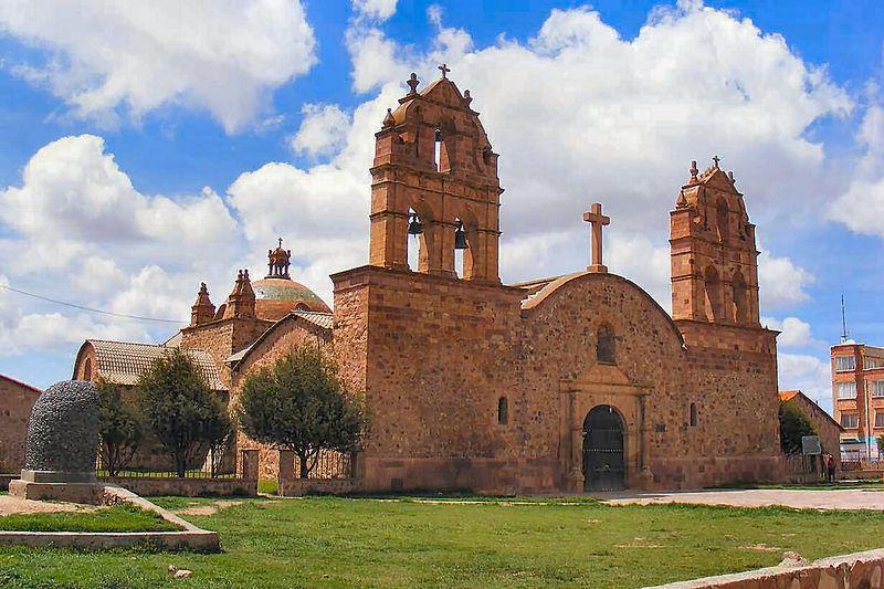 Laja -Kirche in der alten Hauptstadt