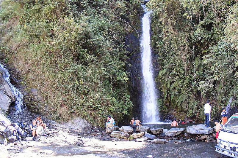 Wasserfall in der Nähe von Coroico
