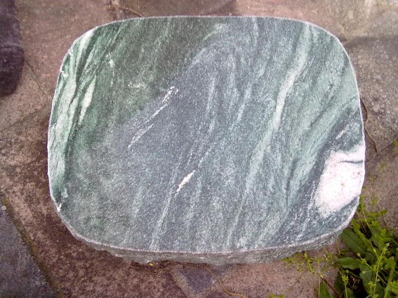 Liegeplatte Lapplandgrün