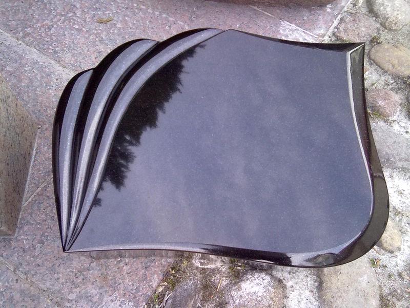 liegeplatte schwarz schwede