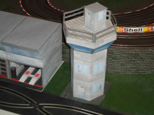 Turm Rennleitung
