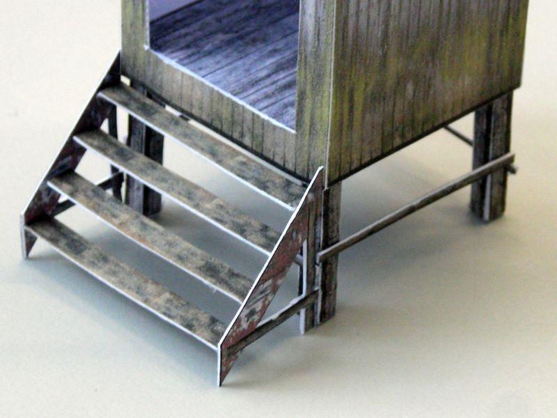 Treppe und Unterbau