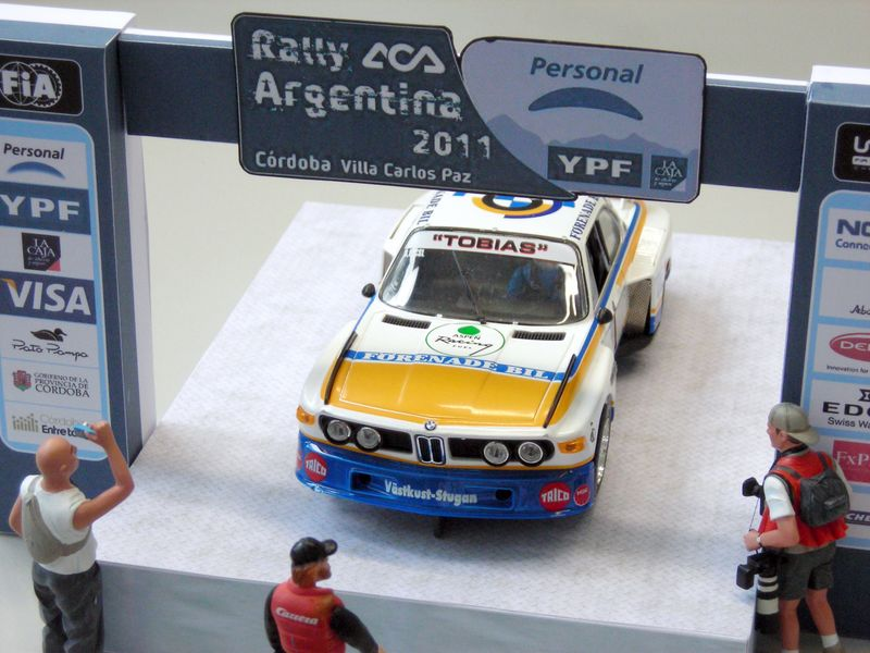 Rally(e)-Startrampe Argentinia 2011