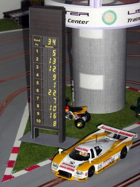 Informationsturm / scoring tower