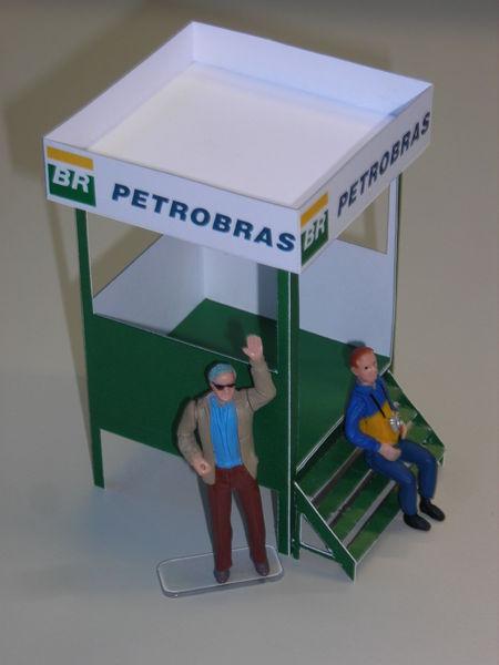 Streckenposten-Häuschen Interlagos