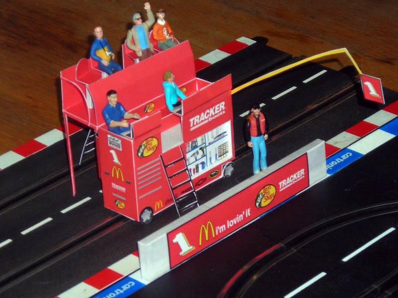 NASCAR pitbox mittel