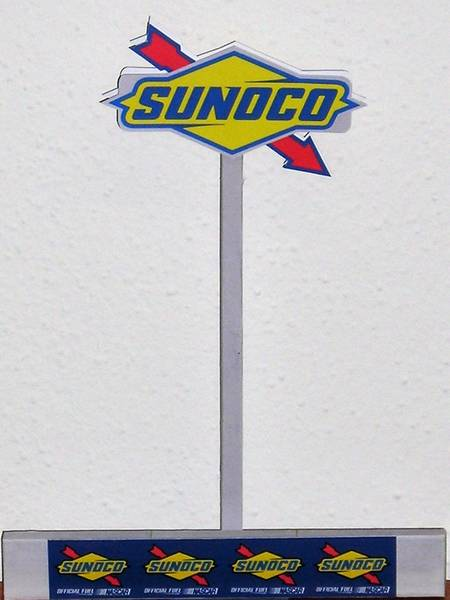 Sunoco NASCAR Sign