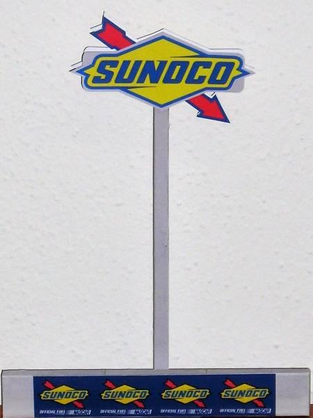 Sunoco NASCAR Sign