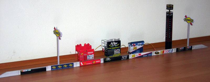 NASCAR Diorama