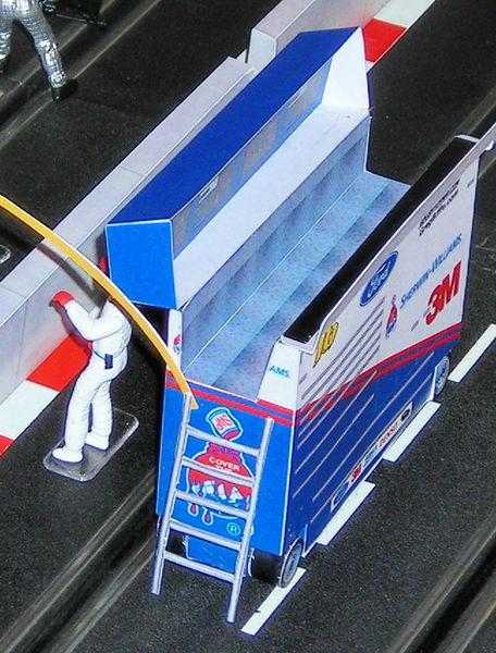 NASCAR pitbox klein