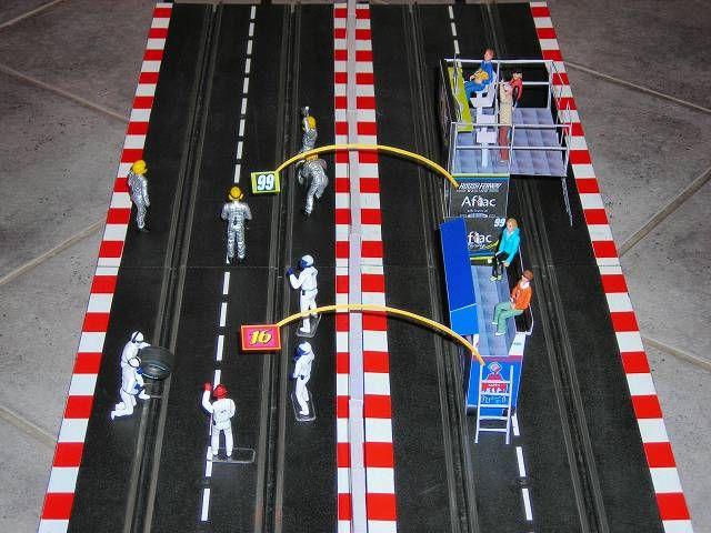 NASCAR-pitlane