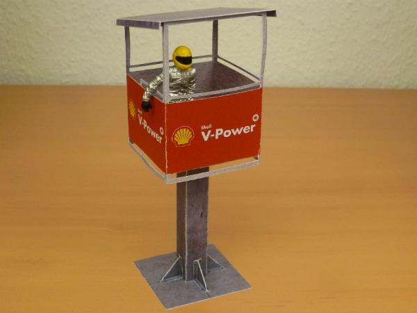 Start-/Ziel-Turm