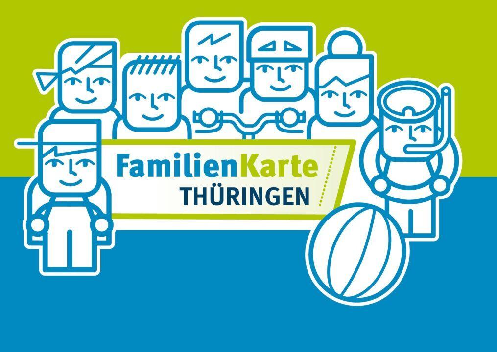 Familienkarte Thüringen Unstrut-lamas