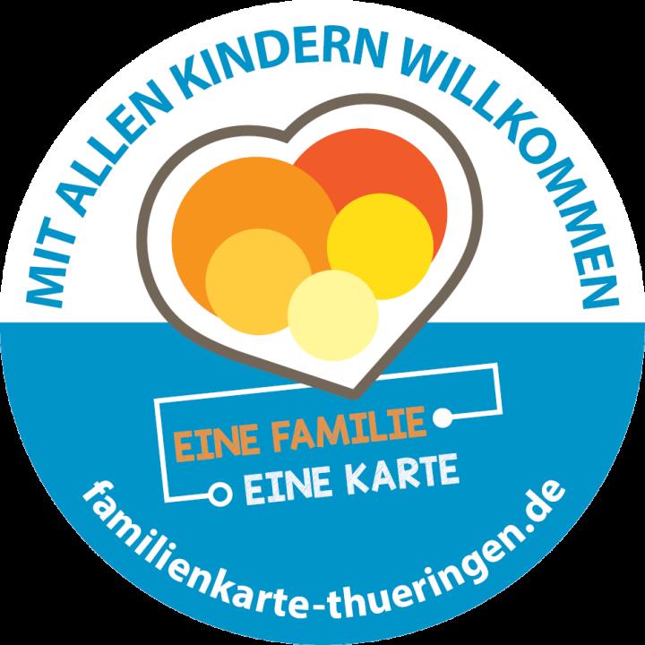 Mehrkindfamilienkarte Unstrut-Lamas