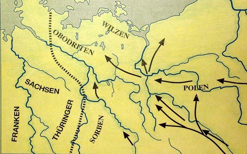 Einwanderung slawischer Stämme