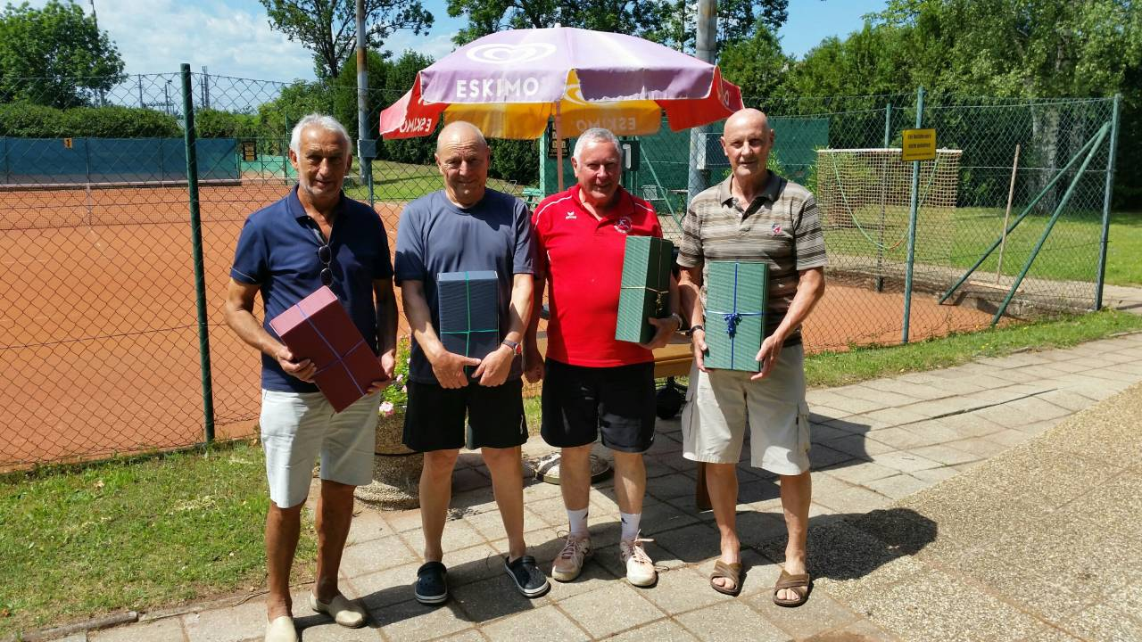 Johann Horvath, Viktor tratter, Abton Blaha, Herbert Lümen