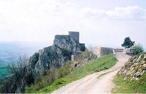 Burgruine in Srebrenik