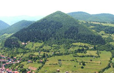 Bosnisches Tal der Pyramiden