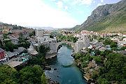 Altstadt Mostar Panorama