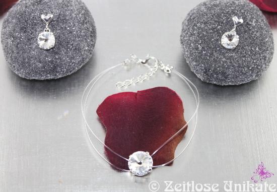 schwebender Stein Ohrringe - Ohrstecker oder Fischerhaken möglich