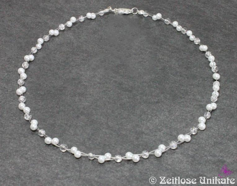 Brautschmuck armband perlen Brautschmuck - Kette, Brautkette, Braut Sonderanfertigung ...