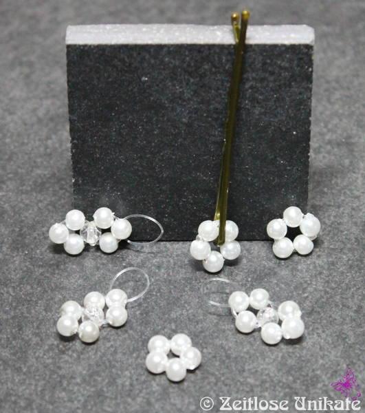 Blumen für die Haare, minimalistisch