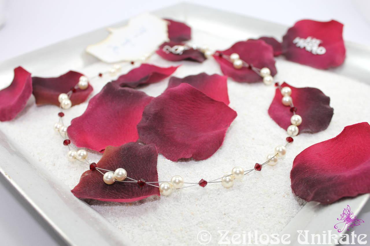 Brautkette mit rot, Beispiel