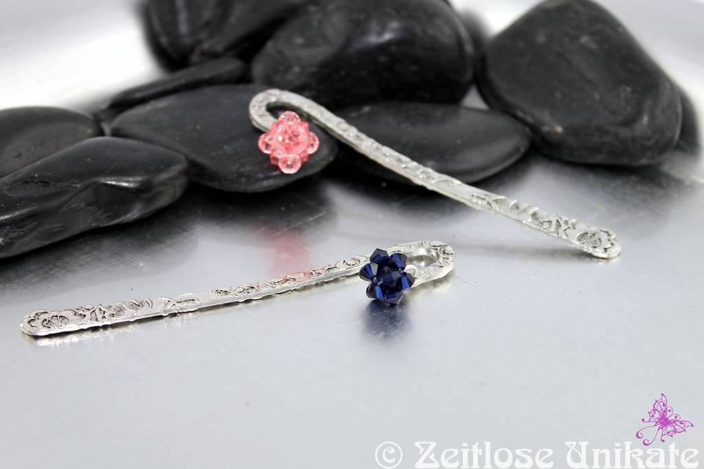 Lesezeichen mit Swarovski® Xilion Beads Kugel