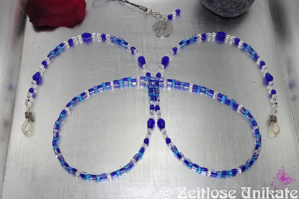 Brillenkette in blau nach Wunsch, (so) einmalig