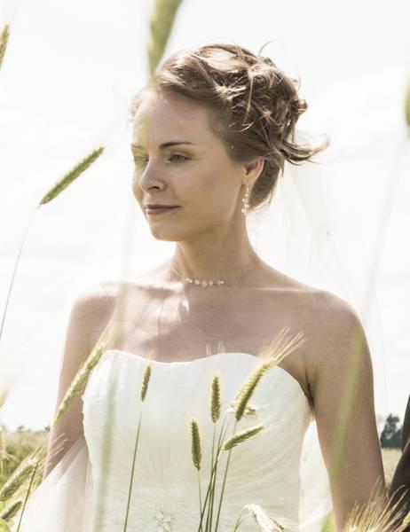 minimalistischer Brautschmuck nach Wunsch