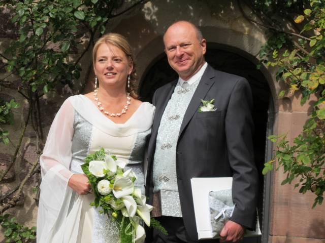 Hochzeitsfoto Mittelalterbraut Kristina