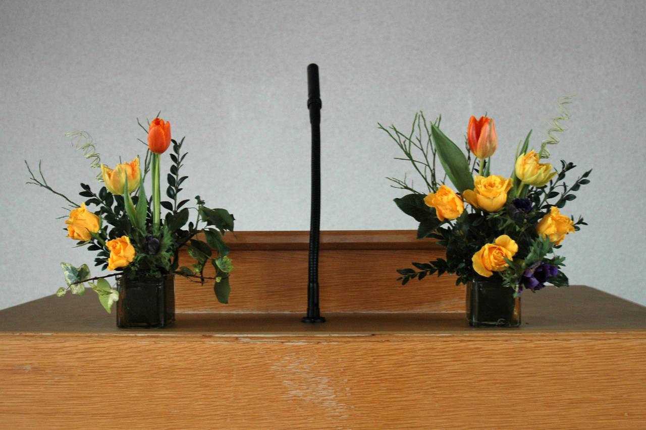 altarschmuck zur konfirmation