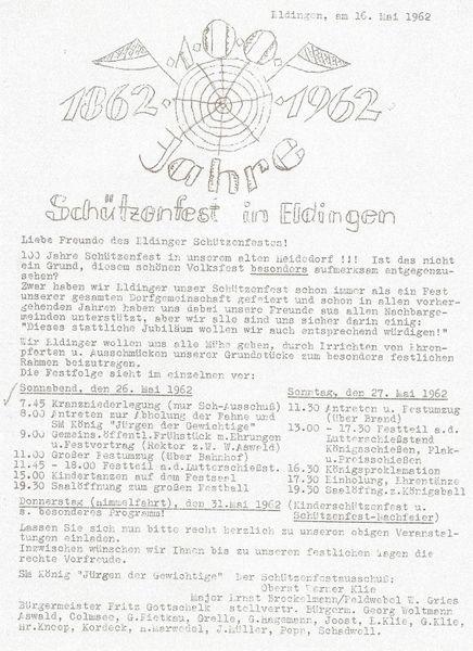 100 Jahre Schützenfest in Eldingen