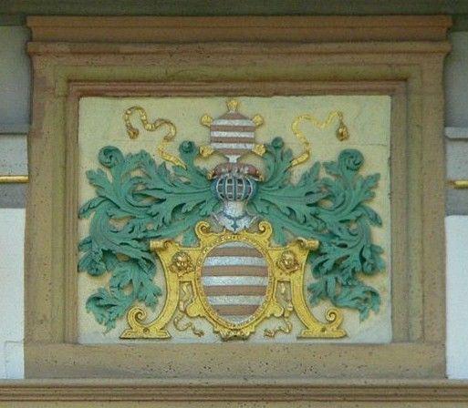 Das Wappen des Mainzer Domkapitels