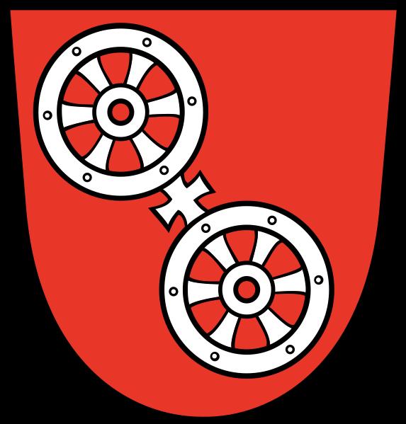 Das Mainzer Stadtwappen - alte Darstellung