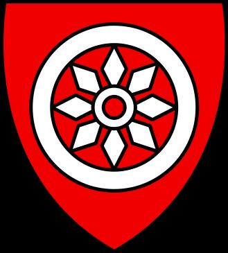 Wappen des Erzbistums Mainz in einer Version aus dem Jahre 1250