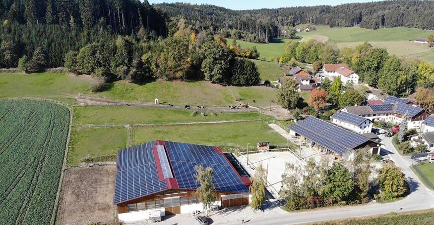 Reiterhof Preintner Luftblid 2019