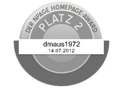 2.Platz NPAGE Homepageaward 14.07.12
