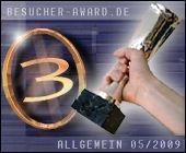 Platz 3 beim Besucher-Award in der Kategorie Allgemein
