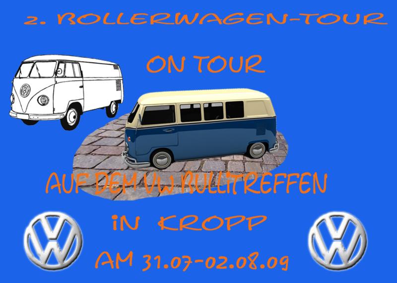 2.Entwurf für die Tour on Tour