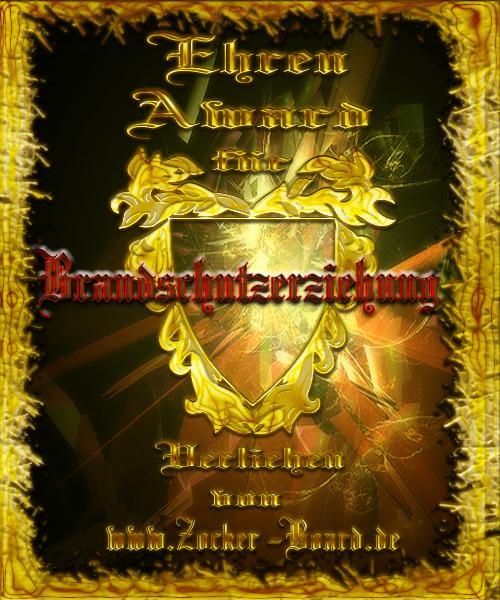 Ehren-Award Brandschutzerziehung