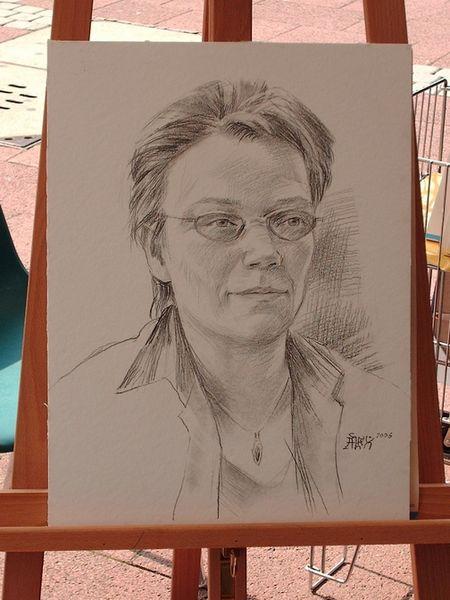 mein Portrait von Alex Vasilev Künstler aus Peine