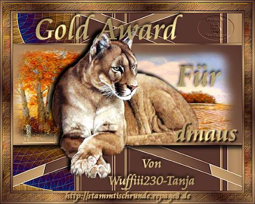 Gold-Award von Tanja