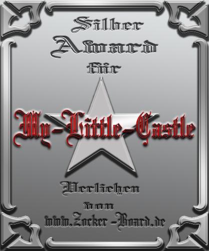 Silber Award My little Castle