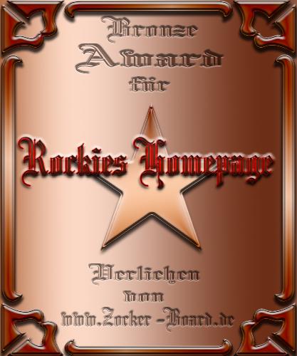 Bronze Award Rockie