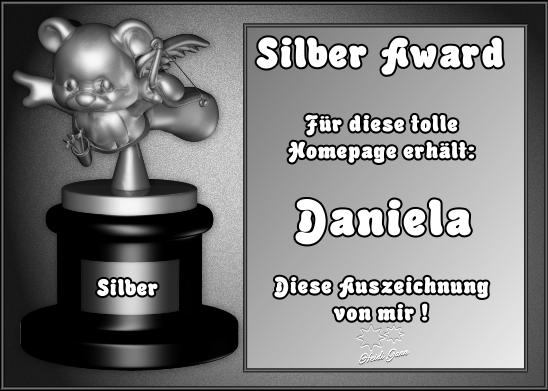 Silber Award von Heidi