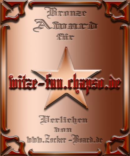 Bronze Award Witzefun