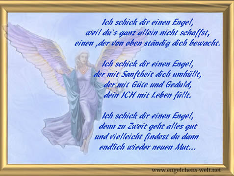 Kurze engel gedichte zum geburtstag